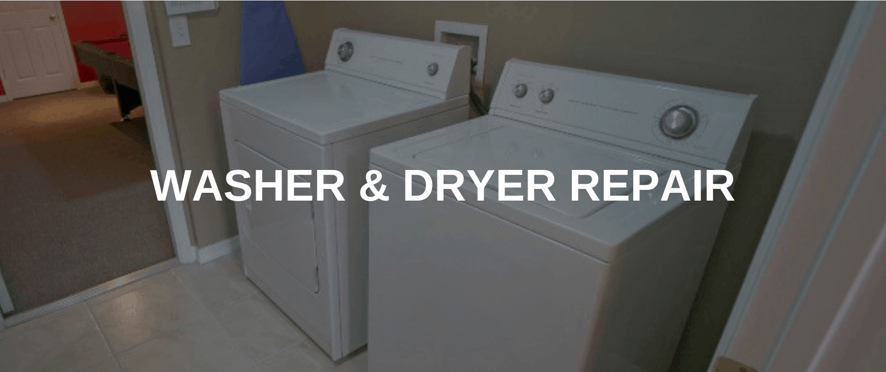 washing machine repair boulder